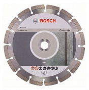алмазный диск bosch standard for concrete 230 по бетону